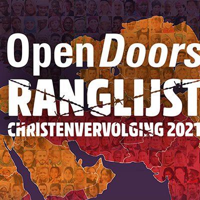 Homebanner Ranglijst Christenvervolging 2021