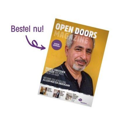 Banner Open Doors Magazine